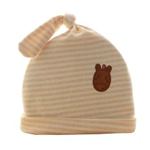 Cute Baby Hats Infant Caps Newborn Baby Cotton Hat Knot Stripe