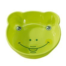 2PCS Children Cartoon Washbasin Thickened Newborn Small Basin[Green]