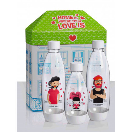 Sodastream Fuse Bottles 'Home Is Where The Love Is' Men