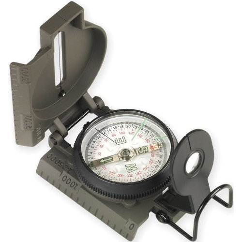 Proforce Equipment Lensatic Compass with Metal Case
