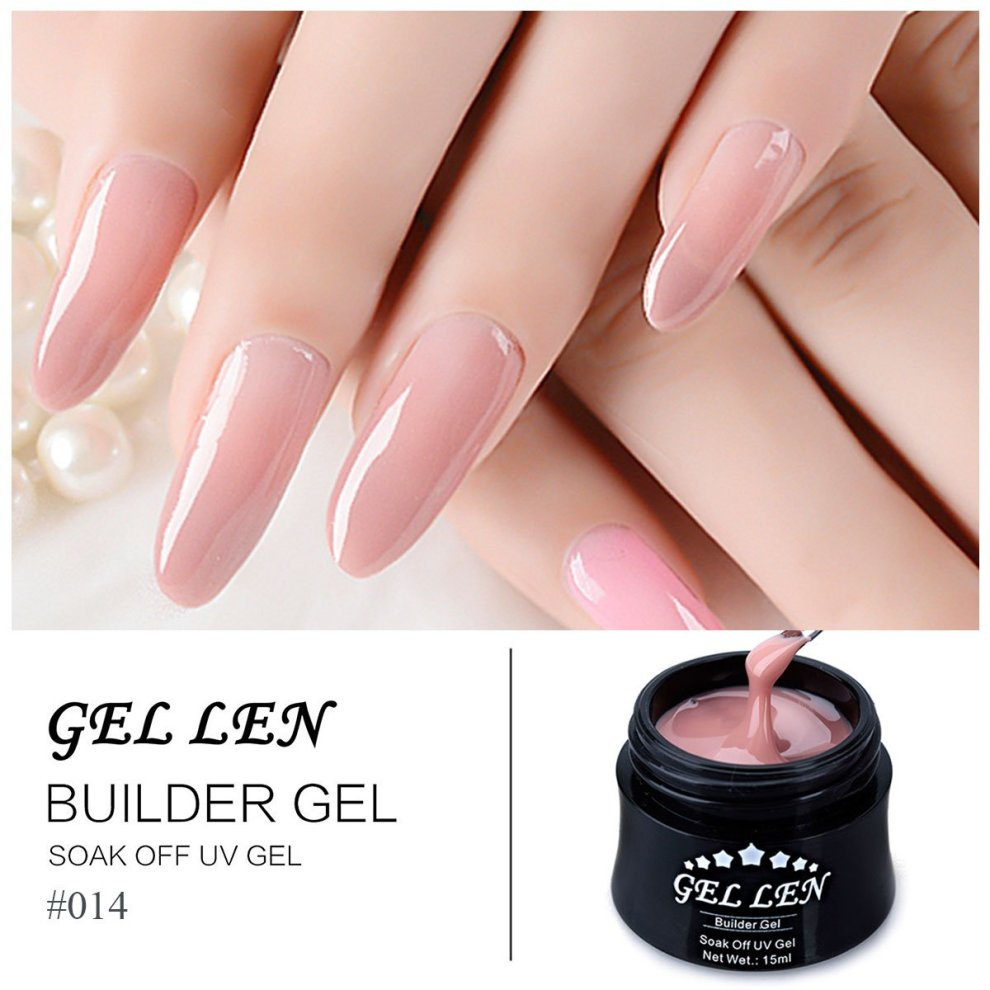 Gellen UV Gel Nail Builder - Extension Builder Nail Art Manicure Kit ...