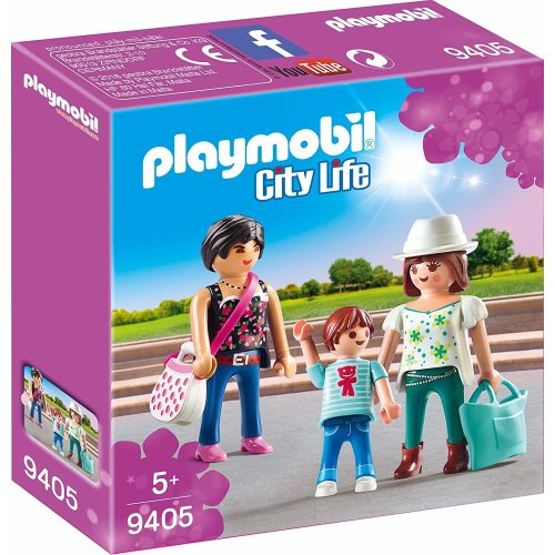 Playmobil 9405 City Life Shoppers