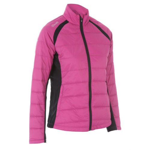 ProQuip Alexis Full Zip Ladies Therma Tour Quilted Jacket Rouge X-Small