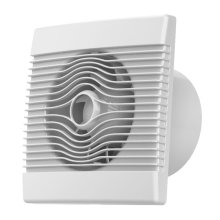Premium Bathroom High Flow Extractor Fan 120mm Timer Pull Cord Humidistat