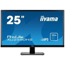 "Iiyama Prolite Xu2590hs-b1 25"" Full Hd Ah-ips Matt Black Computer Monitor Led Display"