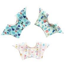 3 Pieces of Baby Bibs Baby Feeding Bib Waterproof [G]