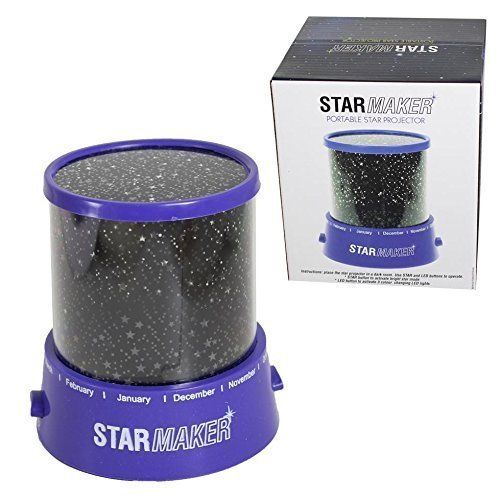 Star Master Portable Projector Lamp LED Cosmos Night Light - Childrens -  star master portable projector lamp led cosmos night light childrens