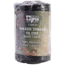 Tejas Waxed Thread 132yd-Black