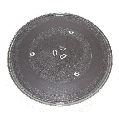 Microwave Turntable Glass 345mm Fits Sharp and Swan Universal