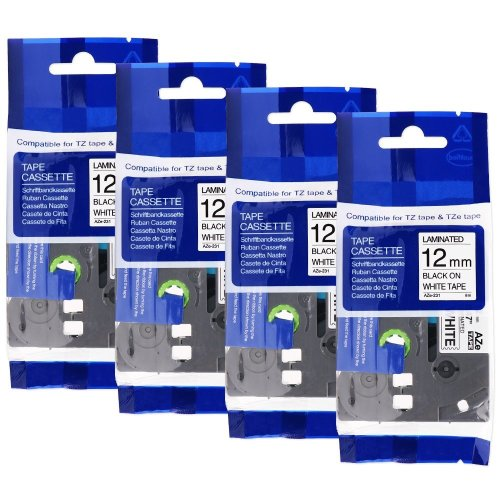 6 PACK Brother TZE231 P-Touch Label Tape TZ231 TZ-231