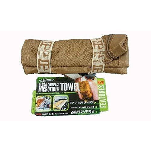 McNett Tactical Ultra Compact Microfiber Towel Olive Drab Green Medium
