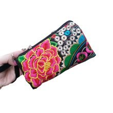 Ethnic Style Needlecrafts Handmade Embroidery, Purse & Hand bag & Purse(K)