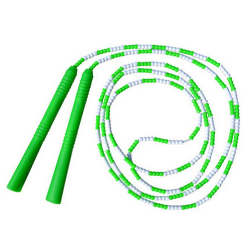 Fitness Training  Lightweight Easily Adjustable Jump Rope,Green&White
