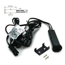 Indoor DC 12V 24W IR Infrared Motion Sensor Switch for LED Light Black