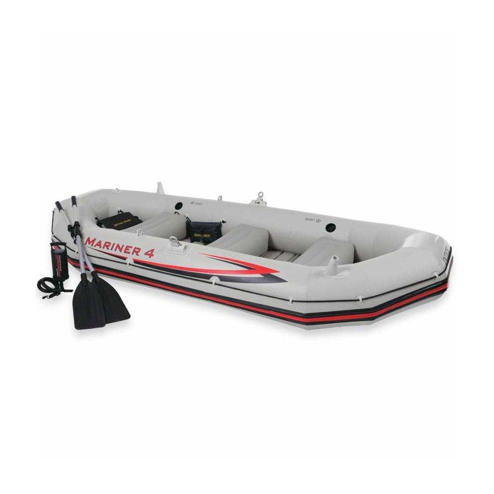Intex 68376 Mariner 4 Inflatable Boat Set | 4 Person Blow-Up