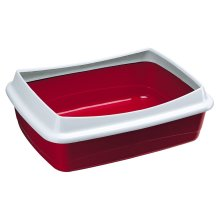 Nip Plus Litter Tray Mixed Colours 47x36x15.5cm (Pack of 6)