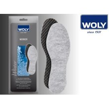 Uk4 Eu37 Woly Unisex Worker Insoles - Insole Size 4 Extra Thick Warm Snug - Woly Worker Insole Size 4 Extra Thick Warm Snug Cushioned Support Leisure