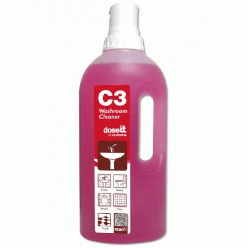 C3 Washroom Cleaner 1L