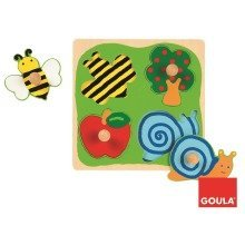 Goula Countryside Wooden Puzzle (4 Pieces)