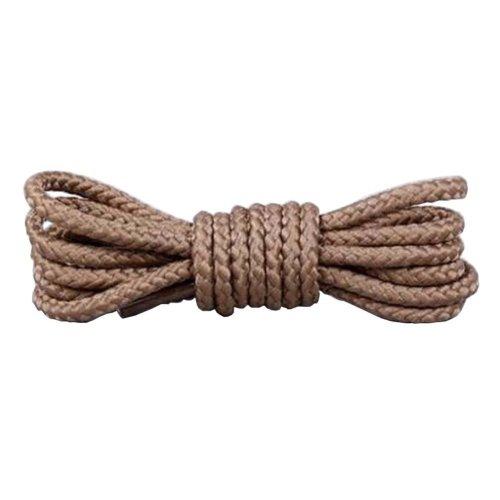 2 Pairs 120cm Round Shoelaces Boot Laces Hiking Shoes Shoelaces #01