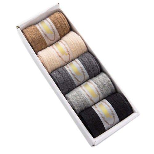 5 Pairs Adult Floor Socks Sleep Socks Winter Casual Socks #5