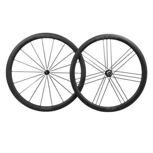 ICAN 40mm Standard Wheels R36 Straight Pull Hubs