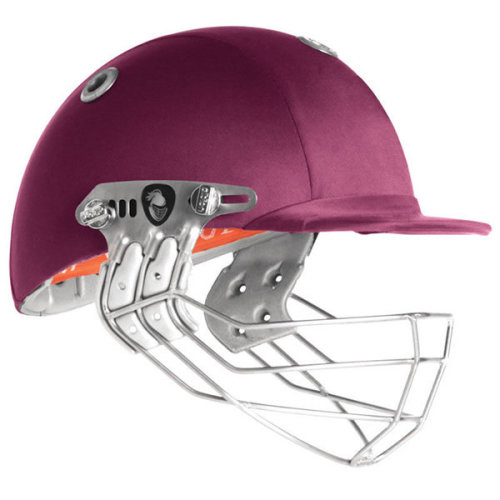 Albion Ultimate 98 Cricket Helmet, Titanium Grille, Maroon