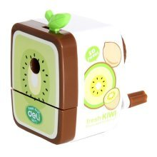 Pack of 1 Kkiwifruit Pencil Sharpener Students Stationery