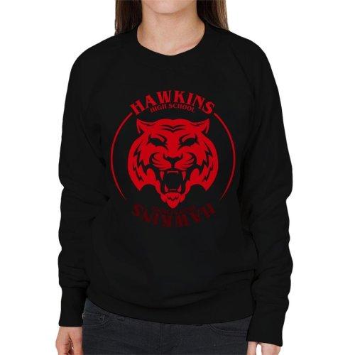 Red Tiger Hawkins High School Stranger Things Women's Sweatshirt