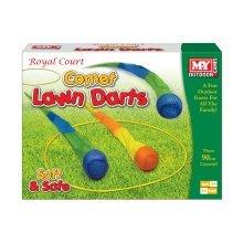 M.Y Comet Lawn Darts In Colour Box Outdoor Garden Family Game