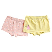 [Pear] Soft Cotton Panties Comfortable Underwears, Set of 2