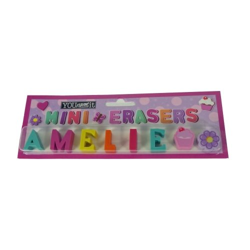 Childrens Mini Erasers - Amelie