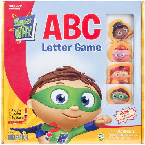 SuperWhy ABC Boxed Game-