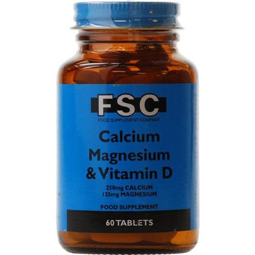 Fsc Fsc Calcium 250mg  Magnesium & D 60 Tablets