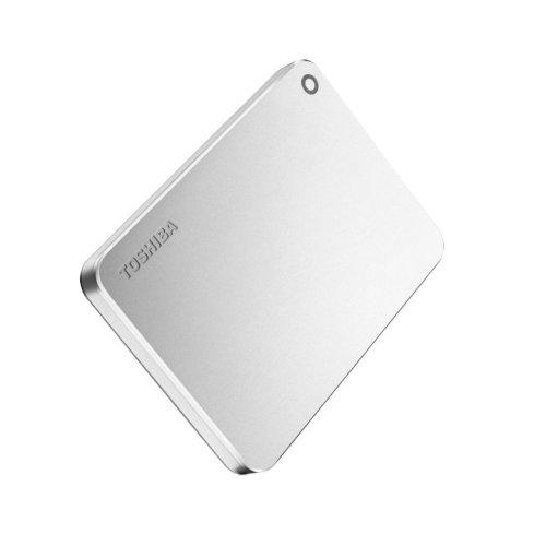 Toshiba Canvio Premium 2TB 2000GB Metallic,Silver