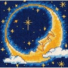 D07173 - Dimensions Mini Needlepoint - Moon Dreamer