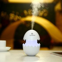 White Mini Humidifiers Egg Design