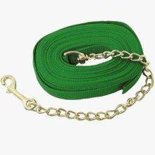 Intrepid International Poly Lunge Line Brass Plate Chain, 22-Inch