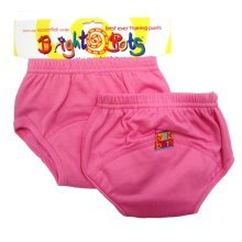 Bright Bots 2pk Washable Training Pants Pink