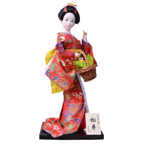 In Kimono Japanese Geisha Doll