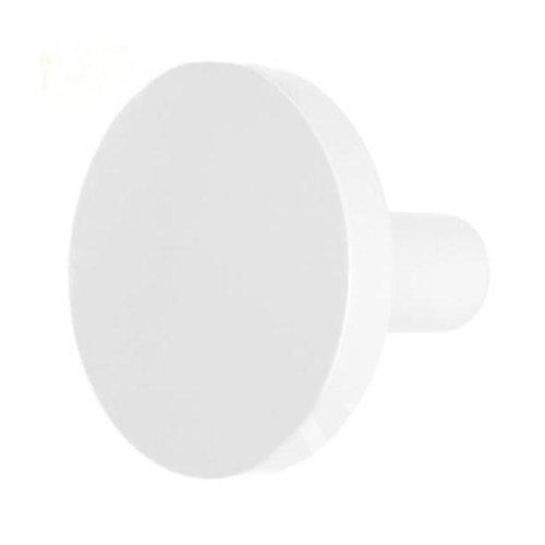 Pushpin Shape Design Coat Hook Hat Hook Creative Decorative Hook(White)
