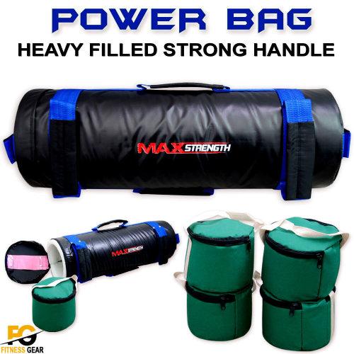 Sandbag Weight Power Training Filled Fitness Bag Blue/Black