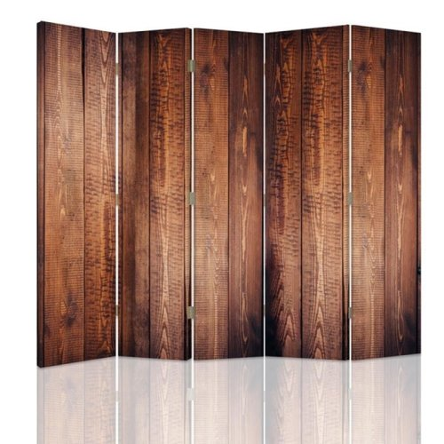 Wood Effect Screen/Room Divider