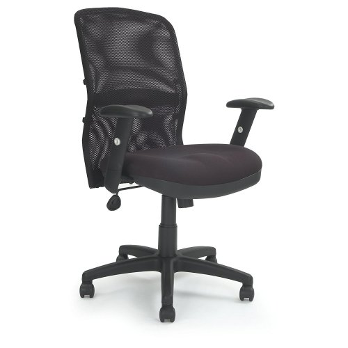 Eliza Tinsley Jupiter - Mesh Back Executive Desk Swivel Armchair with Adjustable Lumbar Support