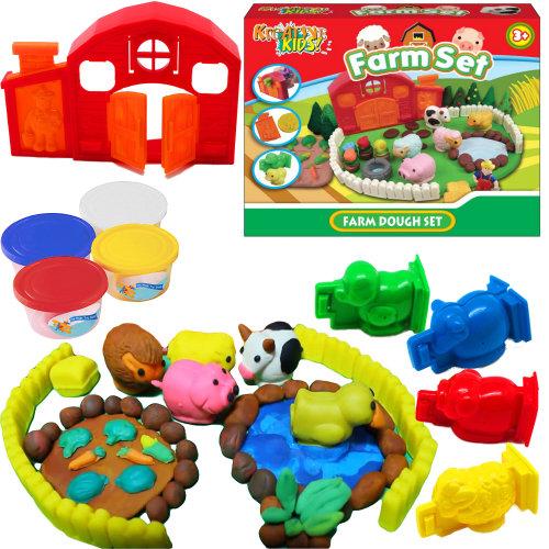 Farm Dough Play Set