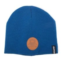 Uncharted 4 Unisex Pro Devs Qvod Licentia Patch Cuffless Beanie - Blue