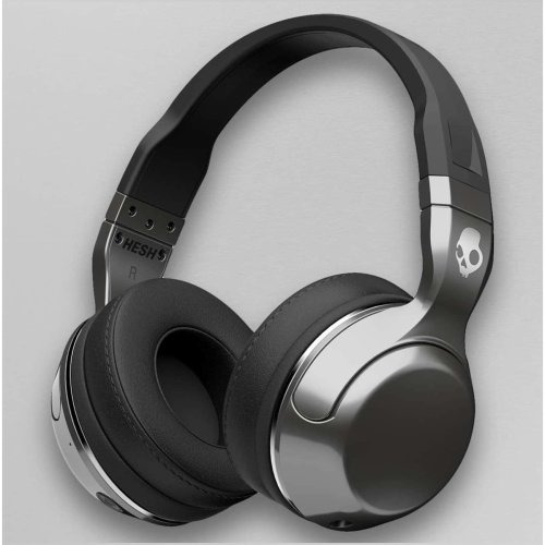 534d0fec988 Skullcandy Hesh 2 Bluetooth Wireless Over-Ear Headphones - Silver/Black/Chrome  on OnBuy