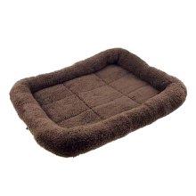 [Coffee] Soft Pet Beds Pet Mat Pet Crate Pads Cozy Beds For Dog/Cat