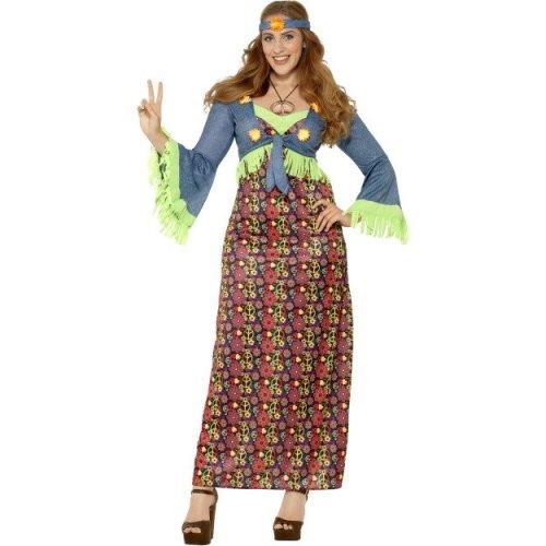 Smiffy\'s 26532x1 Female Curves Hippie Costume (x-large) - hippie ...