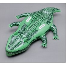 145cm Inflatable Crocodile - Fancy Dress Party Blow Up Australia Day Fancy -  inflatable crocodile fancy dress party blow up INFLATABLE CROCODILE